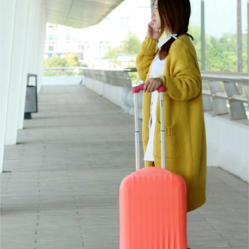 Foto Produk pelindung koper, elastic luggage cover,sarung bagasi warna warni (S) dari Lovely Gubuk