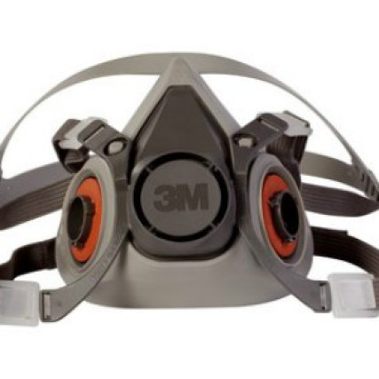 Foto Produk 3M Half Facepiece Reusable Respirator 6200 Masker - Medium dari GDN Jakarta
