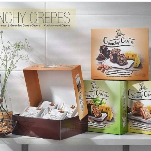 Foto Produk Crunchy Crepes - Chocolate dari Glory Snack