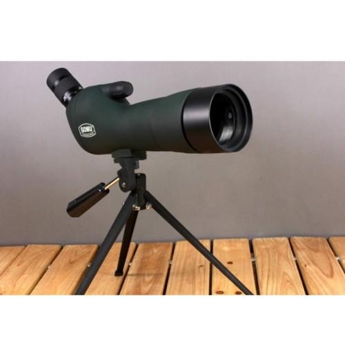 Foto Produk Teropong/Teleskop Gomu Spotting Monocular Telescope with Tripod dari BudgetGadget
