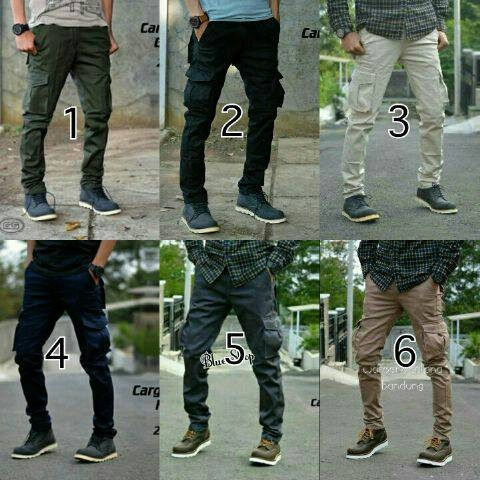 Foto Produk celana cargo panjang pria/celana pdl murah dari Baijonk Store Bandung