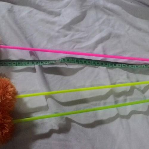 Foto Produk cat toys tongkat bulu untuk mainan kucing dari alhamdulillahshop