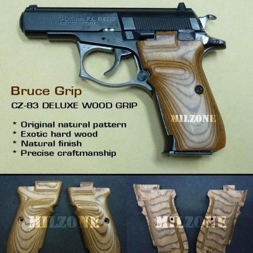 Foto Produk Bruce WOOD GRIP_CZ-83, Deluxe dari MILZONE
