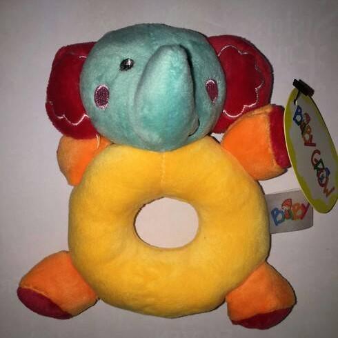 Foto Produk Donut Rattle Elephant Kuning dari Bintaro Baby Shop