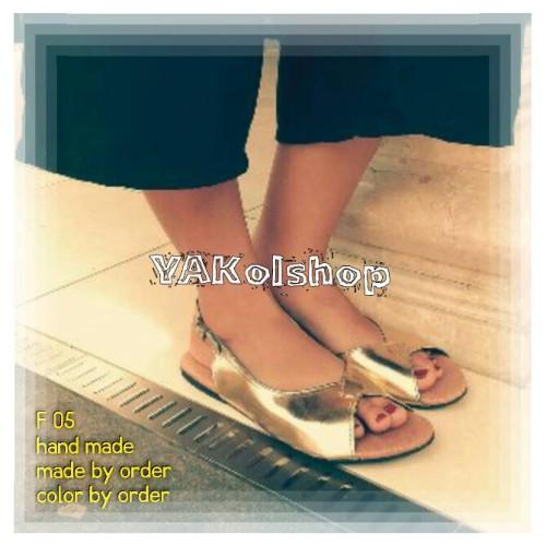 Foto Produk Flat shoes sandals color by order dari Bali Wedding Souvenir