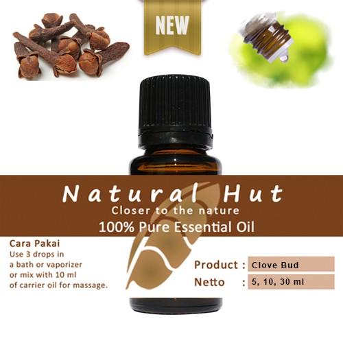 Foto Produk 100% PURE ESSENTIAL OIL (CLOVE BUD) - 5ml dari Natural Hut
