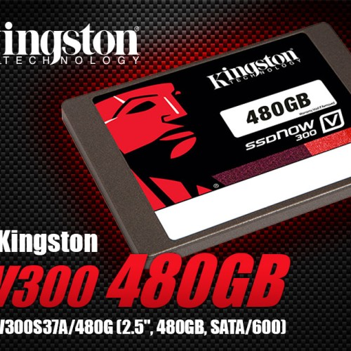 Foto Produk SSD Kingston SV300S37A V300 480 GB dari xagacom