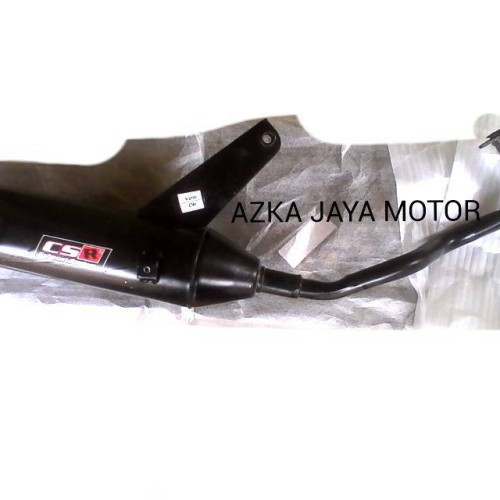 Foto Produk Knalpot Racing Bobokan Vario karbu merk CSR dari Azka Jaya Motor