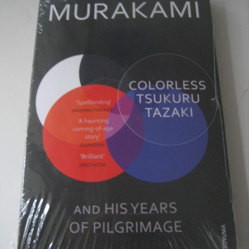 Foto Produk Haruki Murakami - Colorless Tsukuru Tazaki and His Years of Pilgrimage dari Gregstore