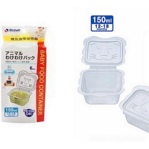 Foto Produk Richell Animal Food Container 150ml 6pcs dari Kenmomshop