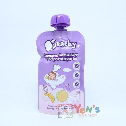 Foto Produk Peachy Banana, Cantaloupe and Potato Puree dari Yen's Baby & Kid Official Shop