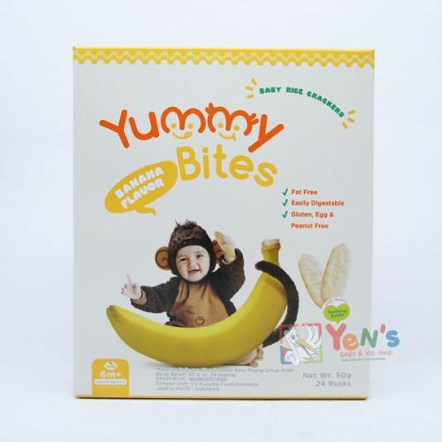 Foto Produk Yummy Bites Banana dari Yen's Baby & Kid Official Shop