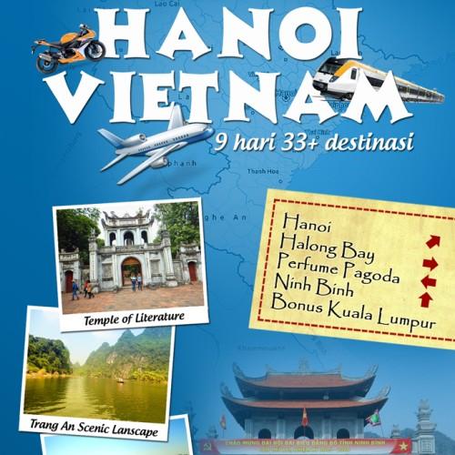 Foto Produk Buku Travel Guide Cara Mudah dan Mudah ke HANOI, VIETNAM dari Jual Aneka Barang