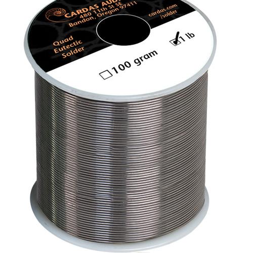 Foto Produk Cardas Quad Eutectic solder wire per meter (Timah Solder Silver) dari Langsung Jadi Elc.