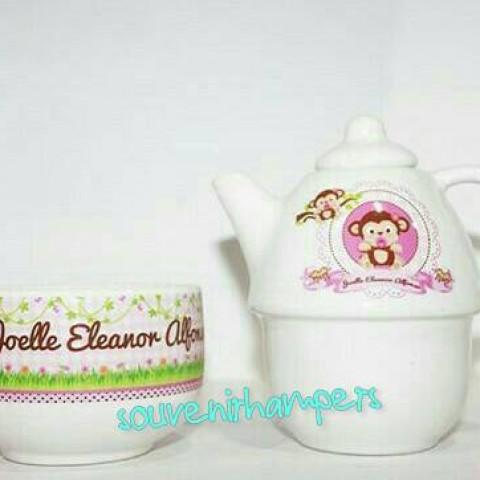 Foto Produk teko susun#hampers#souvenir ultah#souvenir wedding dari Chloe boetik