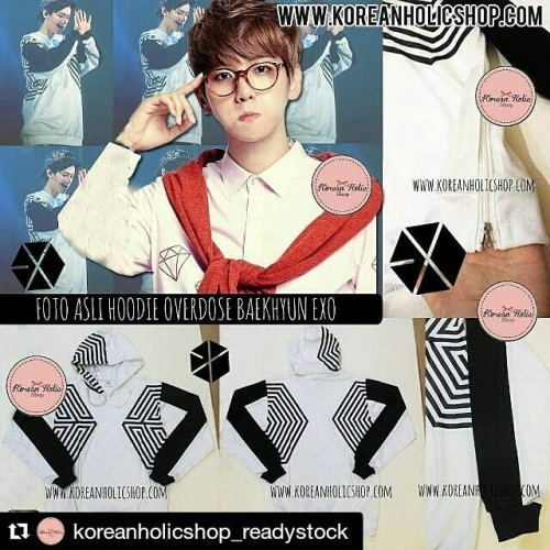 Foto Produk Hoodie overdose Chanbaek Chanyeol baekhyun EXO - S dari Koreanholicshop