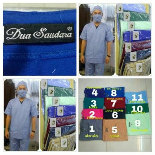 Foto Produk Baju jaga / Baju OK Merk DUA SAUDARA bahan tebal - XS, Lengan Pendek dari Jas Dua Saudara