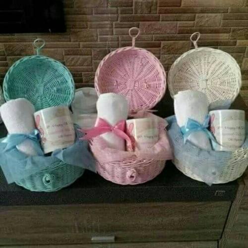 Foto Produk souvenir ultah# hampers#manyek#baby one month dari Chloe boetik