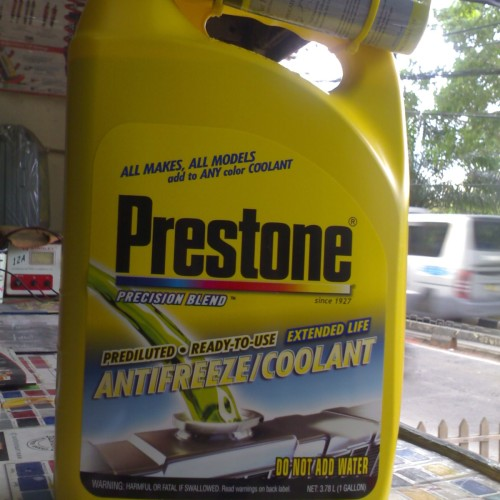 Foto Produk PRESTONE Antifreeze Radiator COOLANT - GALON 3.78 ltr - 100% ORIGINALE dari 46_Hardware