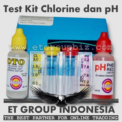 Foto Produk Test Kit Klorin dan pH merk Pentair (atau Rainbow) dari Sooper Shop