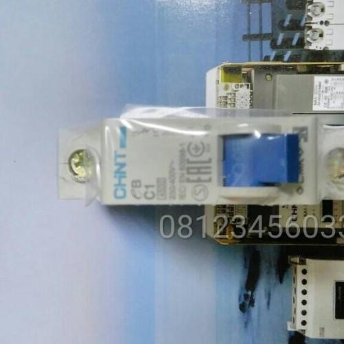 Foto Produk MCB CHINT 1PHASE 1POLE 1 Pas 1P - C1 1A C2 2A C4 4A Amper ORIGINAL dari SURYA-ELEKTRIK