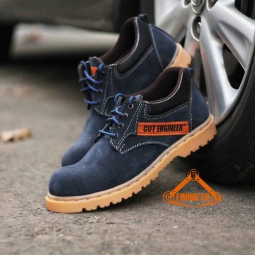 Foto Produk sepatu safety cut engineer murah tahan lama bro dari Cut Engineer