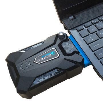 Foto Produk CoolCold Laptop Vacuum Vacum Cooler Cooling Pad Hisap Panas Notebook dari lbagstore