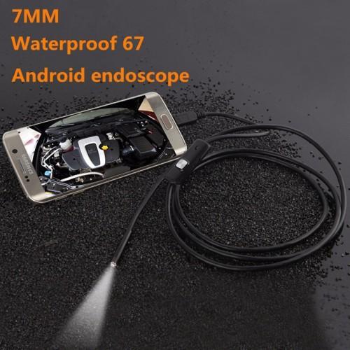 Foto Produk Android Camera Endoscope 720P IP67 Waterproof Kecil mini Kabel OTG dari lbagstore