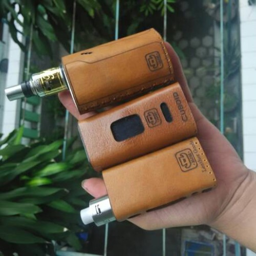 Foto Produk Leather Case Evic VTC / Genuine Leather Sleeve dari ALdis Leather