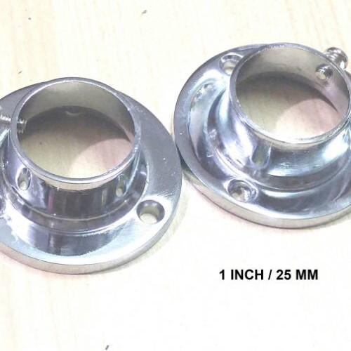 Foto Produk Bracket Topi 1 inch / Dop Pipa Bulat / Sambungan Pipa Bulat dari Best Corner