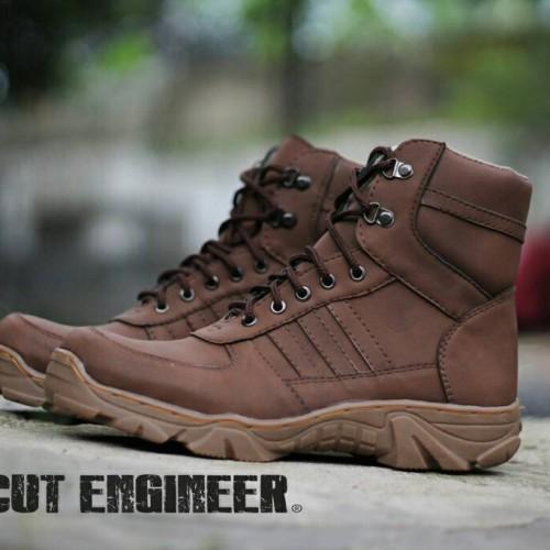 Foto Produk Sepatu safety Cut engineer boots Comford leather diskon dari Cut Engineer