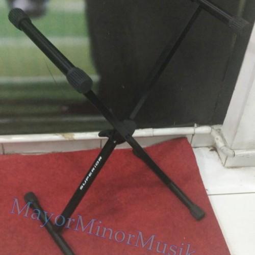 Foto Produk Stand Keyboard Single Superior Import dari Mayor Minor Musik