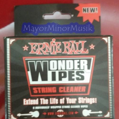 Foto Produk Ernie Ball Wonder Wipes Pembersih senar dari Mayor Minor Musik