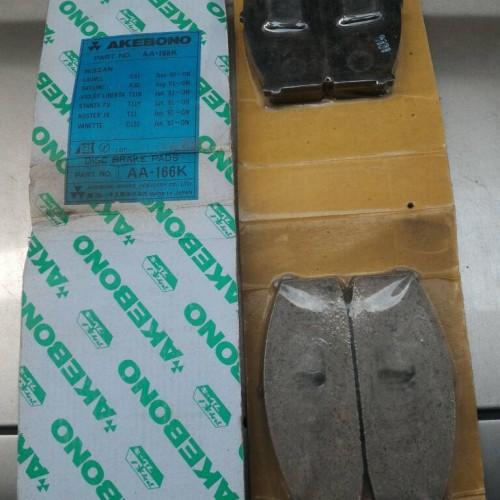 Foto Produk BRAKE PAD KAMPAS REM DEPAN NISSAN STANZA OBRAL MURAH dari Sparepart Nissan Genuine