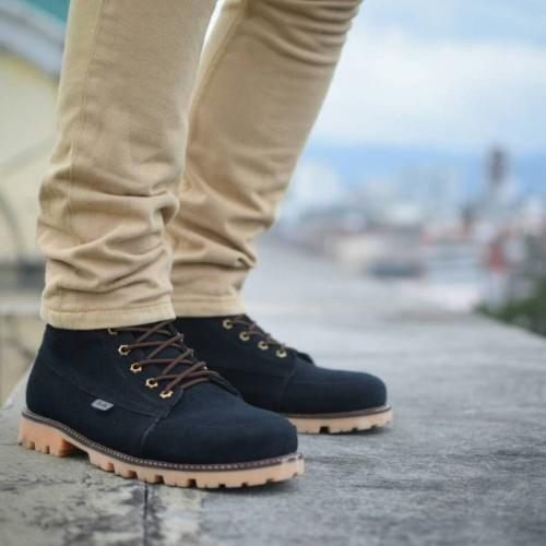 Foto Produk Sepatu Boots SUBZERO BLACK - 39 dari Mall Online Indonesia