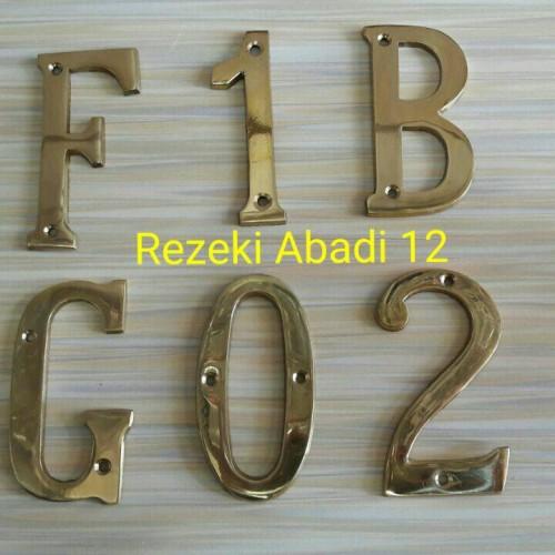 Foto Produk Nomor Rumah / Angka Rumah dari Rezeki Abadi12