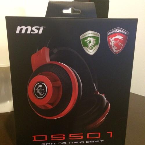 Foto Produk MSI DS501 Gaming Headset dari LiqShop