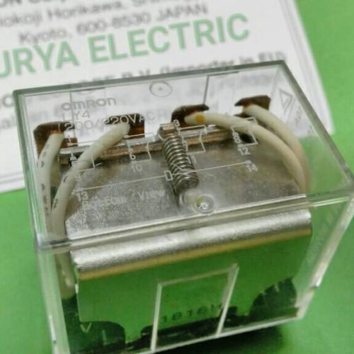 Foto Produk Omron Relay 24vdc LY4 LY 4 LY-4 24 vdc 24V DC Asli Original Omron ORI dari SURYA-ELEKTRIK