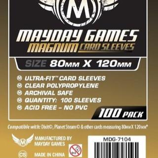 Foto Produk Card Sleeves 80x120 mm - Board Game - Mayday Magnum Gold - Dixit Size dari Toko Board Game
