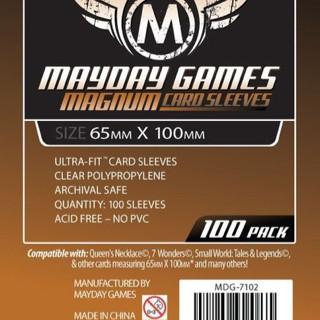Foto Produk Card Sleeves 65x100 mm - Board Game - Mayday Magnum Copper 7 Wonders dari Toko Board Game
