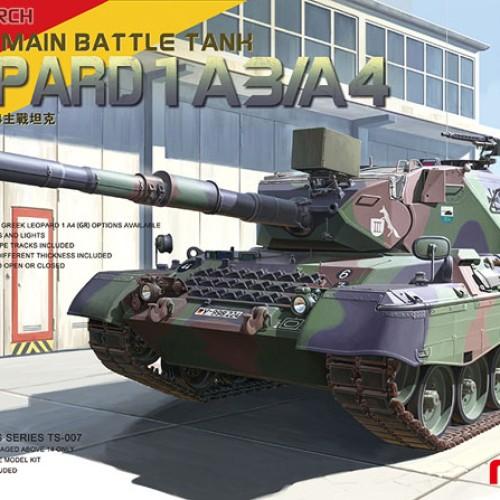 Foto Produk 1/35 German Main Battle Tank Leopard 1 A3/A4 dari SantaFe Workshop