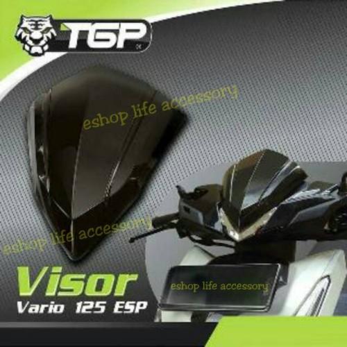 Foto Produk Aksesoris Visor Vario 150 / 125 yg Lamu LED/ Variasi Headlamp TGP dari e-shop life accessory