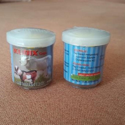 Foto Produk Kudix Caps, Anti Infeksi Kulit Pd Sapi, Kambing, Babi, Kuda, Kelinci dari Christme