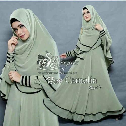 Foto Produk New Camelia Green dari Fit's Fashion