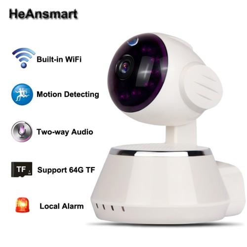 Foto Produk CCTV Wireless IP Camera Wifi P2p Hd 720p Support Memory Card dari Elenna-Store