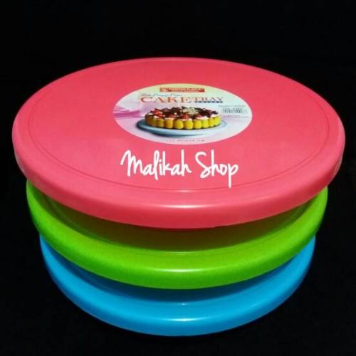 Foto Produk MEJA PUTAR MASPION / CAKE TRAY MASPION / LAZY SUSAN dari Malikah Shop