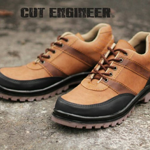 Foto Produk Hikers Iron Boots Ankle Safety Luxury Brown dari Cut Engineer