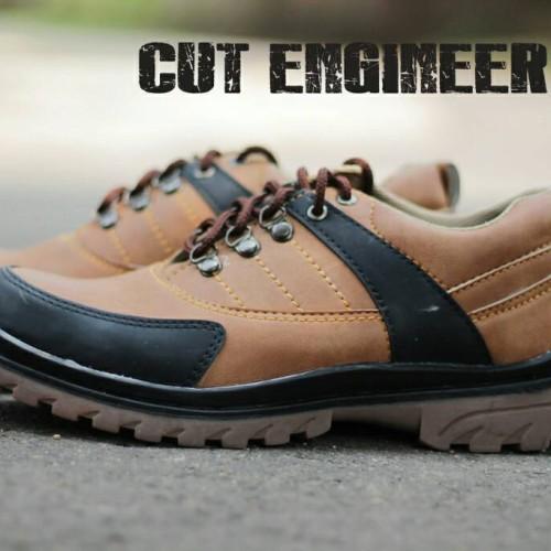 Foto Produk Hikers Shoes Safety Boots Jellybean Leather - Cokelat dari Cut Engineer