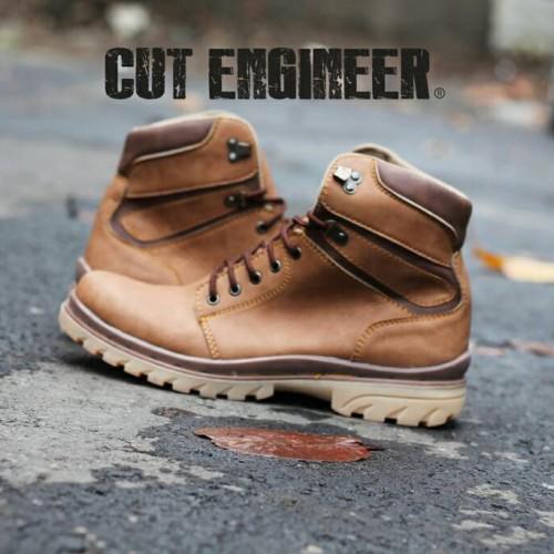 Foto Produk sepatu Safety boots kren bro hrg murah cut engineer dari Cut Engineer
