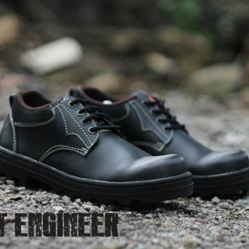 Foto Produk Sepatu Low boots Safety Iron Cut Engineer kren murah dari Cut Engineer